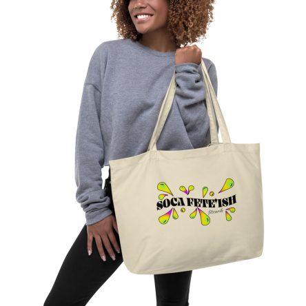 Soca Fete'ish Large Organic Tote Bag