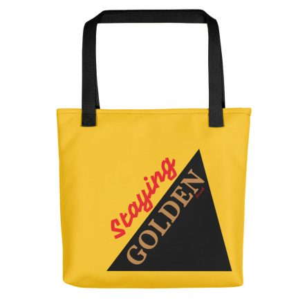 Staying Golden Tote Bag