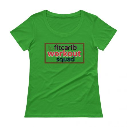 Workout Squad Ladies' Scoopneck T-Shirt