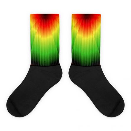 Rasta Vibes High Socks
